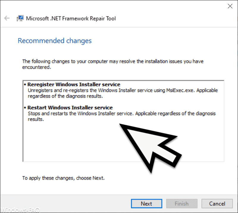 Changes to be made to the .Net framework