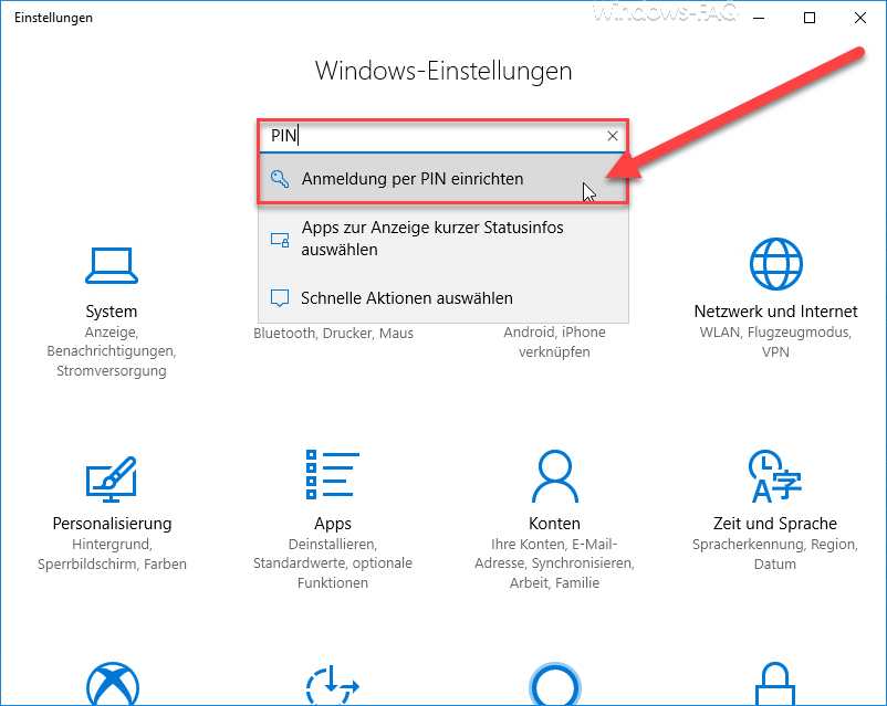 Set up login with PIN in Windows 9 - HowPChub