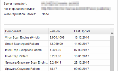 TrendMicro OfficeScan 11.0.6355 Service Pack 1