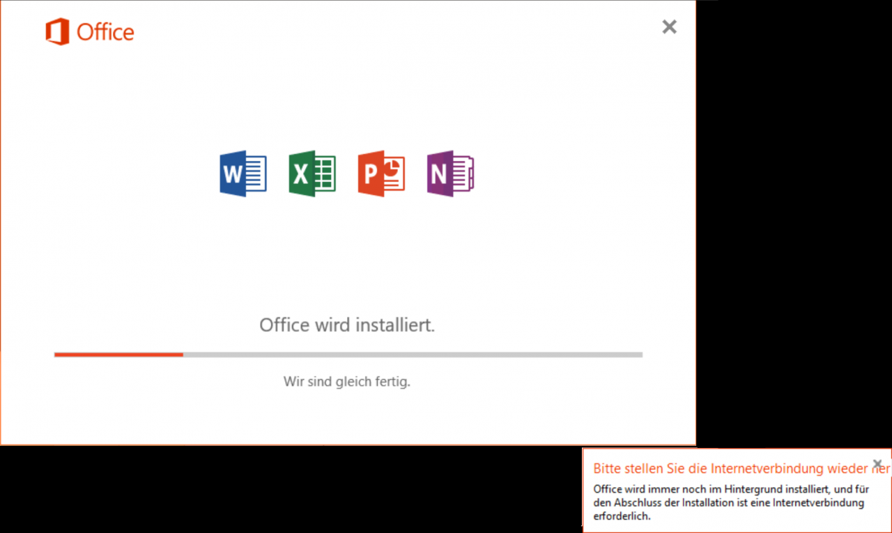 office-will-be-installed-please-stele-restore-the-internet-connection