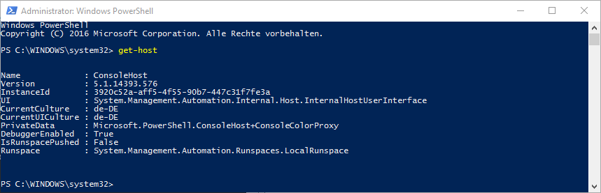 Query PowerShell version - HowPChub